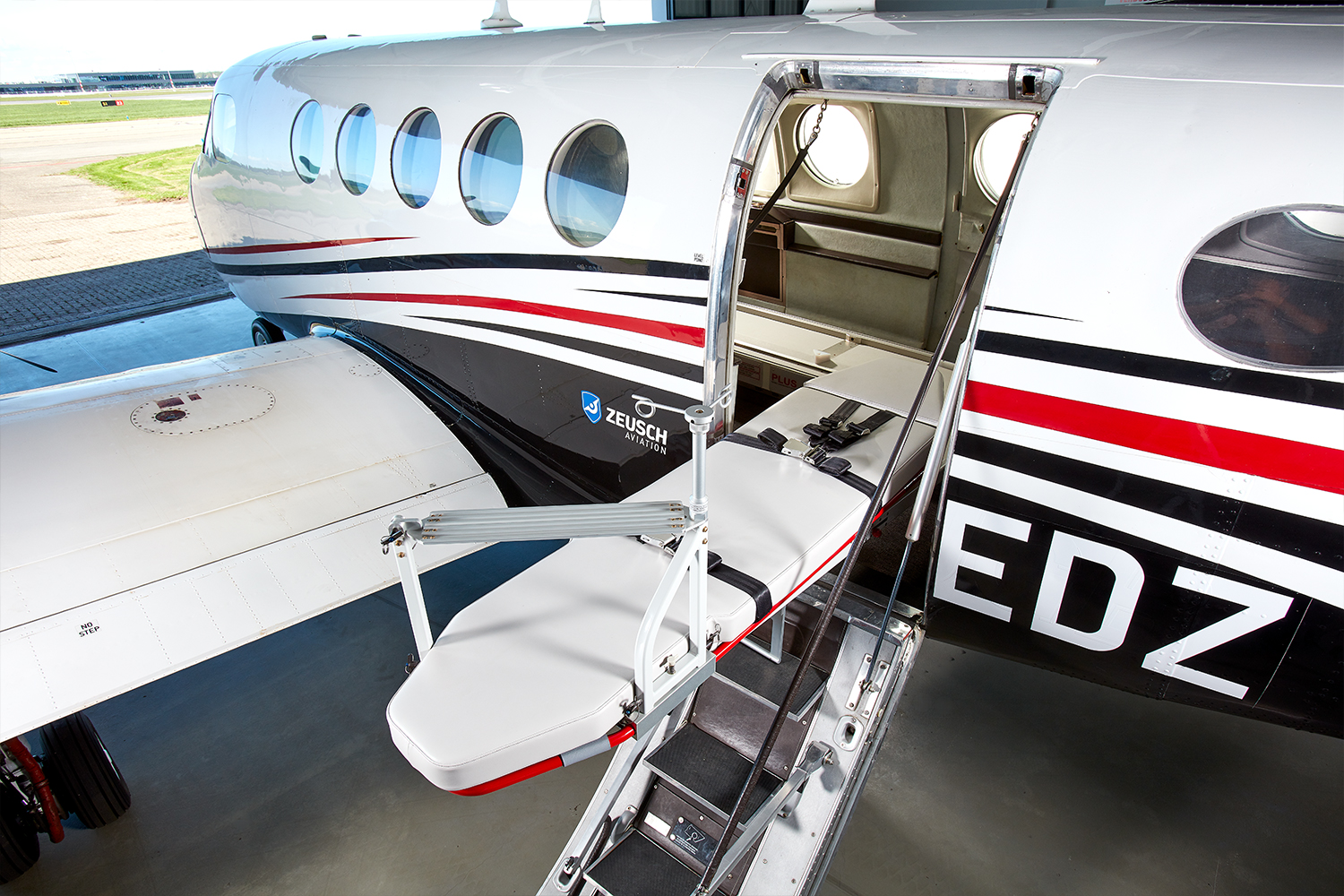 Zeusch Aviation launches King Air Medevac in Spain