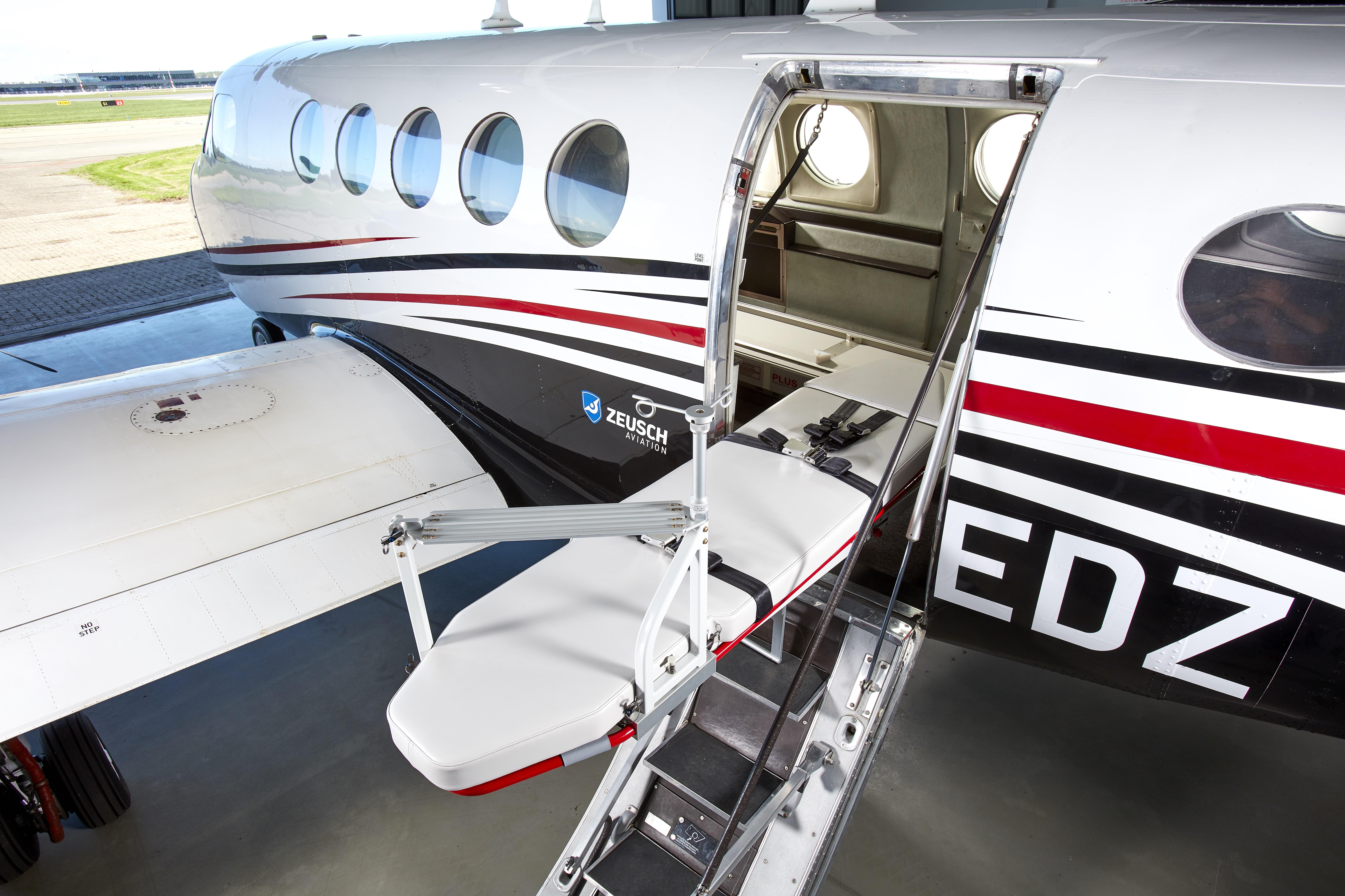 Zeusch Aviation breidt Medevac ervaring uit in Spanje
