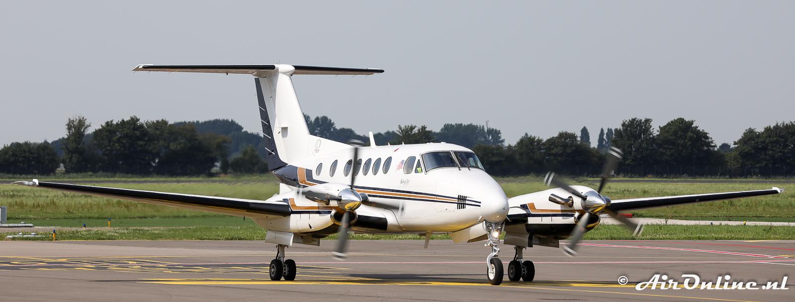 Vierde Beech King Air overgevlogen naar Nederland