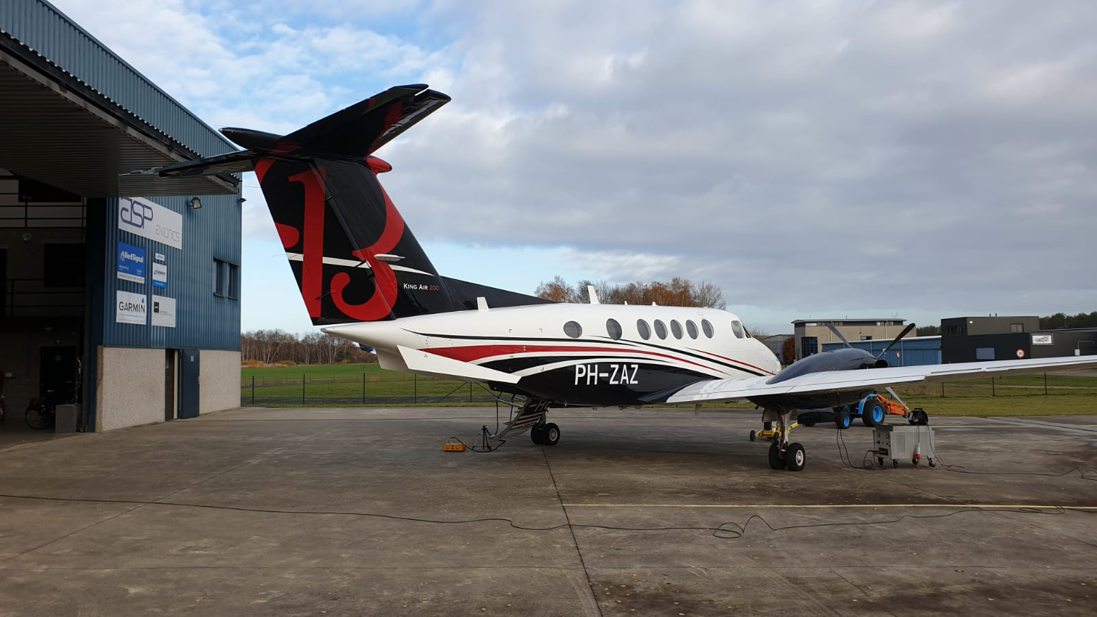 B200 King Air Dutch registered