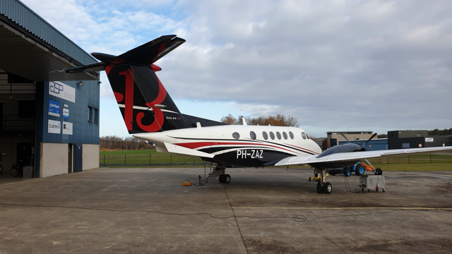 B200 King Air Nederlands geregistreerd